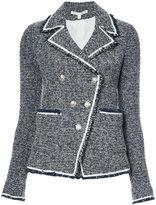 Veronica Beard slim-fit tweed blazer