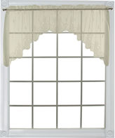 Asstd National Brand Heritage Lace Welcome Rod-Pocket Swag Valance Pair