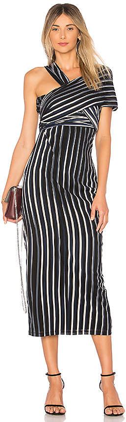 Diane von Furstenberg Structured Sash Dress