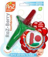 Razbaby RaZ-Berry Baby's First Toothbrush/100% Silicone Teether