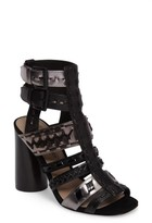 Donald J Pliner Women's Bindy Column Heel Cage Sandal