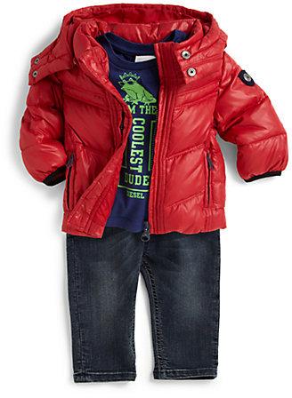 Diesel Infant's Nylon Down Puffer Jacket