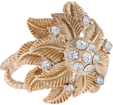 Accessorize Layered Leaf Cocktail Ring