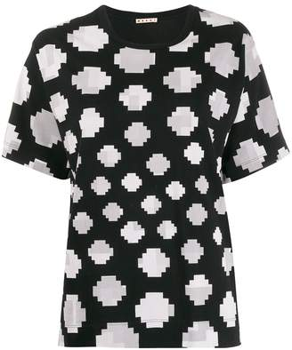 Marni pixel polka dot T-shirt