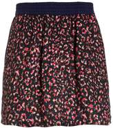 Ikks COULEUR BLOCK Mini skirt encre