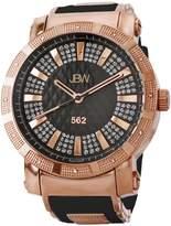 JBW Men's 562 Stainless Steel Watch, 50mm