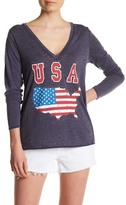 Chaser Cutout Graphic Long Sleeve Tee