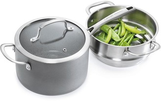 Cuisinepro Swiss+Tec Ceramic and Stainless Steel Steamer Set 20cm