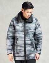 Bibi Chemnitz Grey High Collar Hooded Jacket