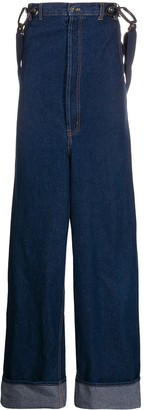 Jean Paul Gaultier Pre Owned 1993 Suspender Jeans