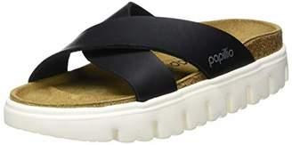 Birkenstock Papillio by Women's Daytona Open Toe Sandals, Chunky Black