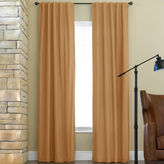 JCPenney JCP Home Collection HomeTM Jenner Cotton Twill Rod-Pocket/Back-Tab Thermal Curtain Panel