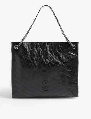 Saint Laurent Leather shopper bag