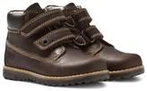 Primigi Aspy Dark Brown Velcro Ankle Boots