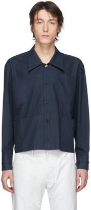 Namacheko Navy Sumala Shirt