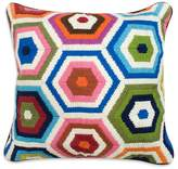 "Jonathan Adler Bargello Honeycomb Pillow, 18"" x 18"""