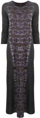 Raquel Allegra Tye-Dye Maxi Dress