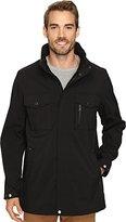 Izod Men's Fleece Lined, Water Resistant Shirt Jacket