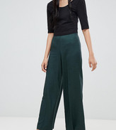 Weekday twill wide leg pants
