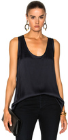 Nili Lotan Dana Tank Top in Blue.