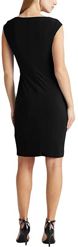 Thumbnail for your product : Lauren Ralph Lauren Jersey Surplice Dress