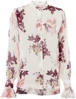 Lover Ingrid Silk Floral Blouse