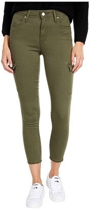 Levi's(r) Womens 721 Skinny Utility Ankle (Defined Twill Olive) Women's Casual Pants