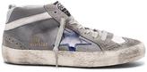 Golden Goose Deluxe Brand Velvet Mid Star Sneakers