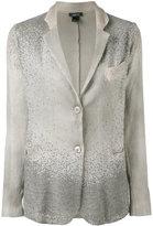 Avant Toi Corda classic blazer - women - Cotton/Linen/Flax/Polyamide/Cashmere - S