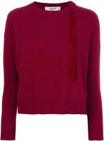 Blugirl shoulder slit sweater - women - Polyamide/Viscose/Cashmere/Wool - 38