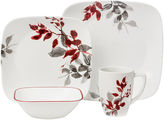 Corelle Boutique Kyoto Night 16-pc. Square Dinnerware Set