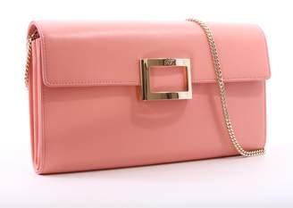 Roger Vivier Viv Enveloppe Flap Pink