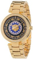 Versace Women's VK6040013 Mystique Foulard 38mm Rose Gold Ion-Plated Stainless Steel Quartz Diamond Watch