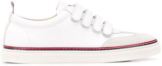 Thom Browne Vitello Calfskin Velcro Lo-Top sneakers