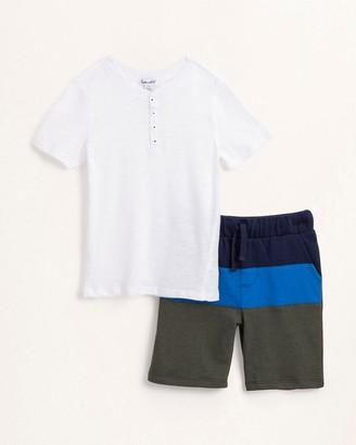 Splendid Little Boy Block Short Set