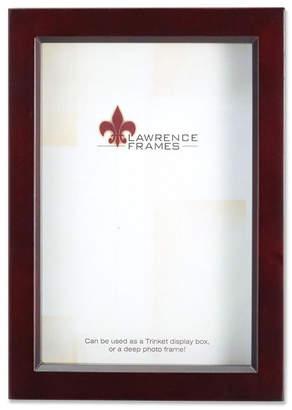 "Lawrence Frames 795146 Espresso Wood Treasure Box Shadow Box Picture Frame - 4"" x 6"""