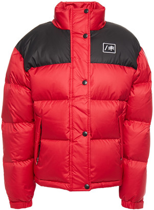 RE/DONE + Ienki Ienki Two-tone Quilted Shell Down Jacket