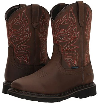 Ariat Sierra Delta H2O (Oily Distressed Brown) Cowboy Boots