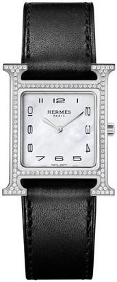 Hermes Heure H Watch, 21 x 21 mm