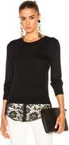 Altuzarra Walkaloosa Sweater with Lace
