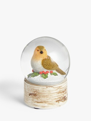 John Lewis & Partners Bloomsbury Bird Snow Globe