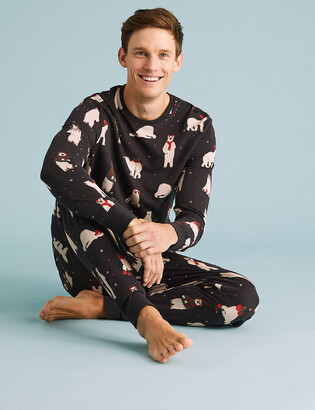 Marks and Spencer Mens Family Christmas Pyjama Set