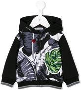 Dolce & Gabbana tropical print jacket - kids - Cotton - 6 mth