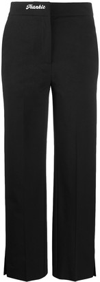Frankie Morello High-Rise Tailored Trousers