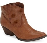 Very Volatile 'Mishka' Perforated Western Bootie (Women)