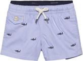 Ralph Lauren Blue Shark Embroidered Swim Shorts