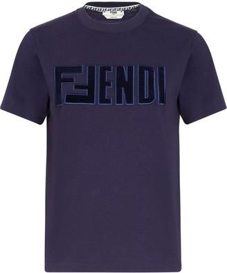 Fendi logo-detail T-shirt