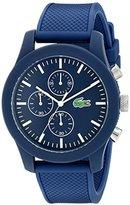Lacoste Men's 2010824 12.12 Analog Display Japanese Quartz Blue Watch