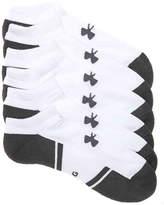 Under Armour Men's Resistor 3 No Show Socks - 6 Pack