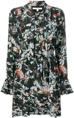 Derek Lam 10 Crosby wallpaper floral print dress
